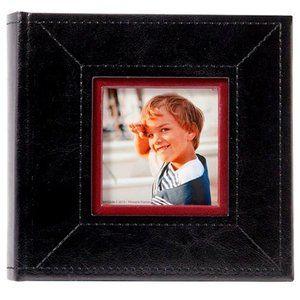 NWT Pinnacle Photo Albums 4 x 6 Black